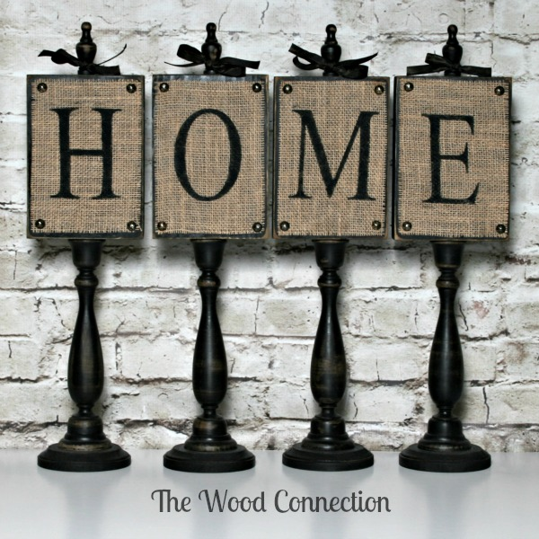 burlap home blocks - the wood connection blog