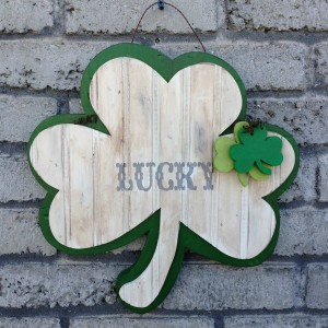 Lucky Shamrock Door Hang