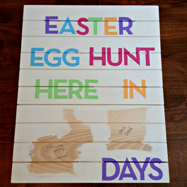 Easter Egg Hunt Countdown - The Wood Connection Blog