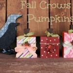 crows and pumpkins