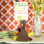 turkey placecard holder