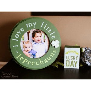 Lucky Little Leprechaun Frame