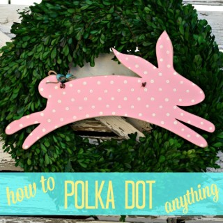 how to polka dot anything