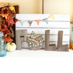 Fun Fall Vignette