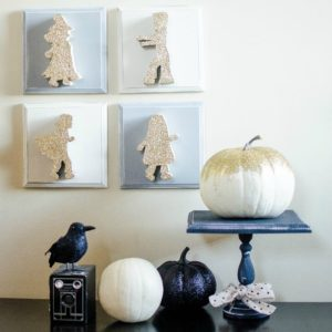 Trick Or Treaters Halloween Decor