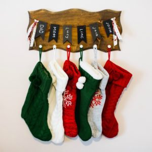 Christmas Stocking Board