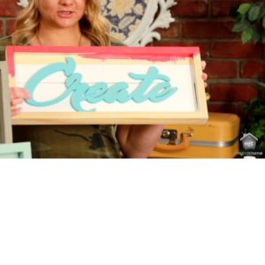 MY CRAFT CHANNEL: DECORATING WITH SIGNS