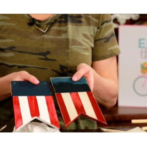 MY CRAFT CHANNEL: PATRIOTIC BANNER