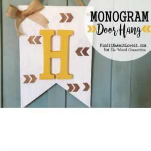 Monogram Banner Door Hang